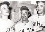 Roger Maris, Arroyo, and Blanchard 1961 original UPI photo Yankees