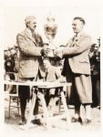 Cyril Tolley wins British Amateur Golf Title original 1929 photograph