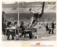Bob Beamon 1968 Olympics Breaking Record Original UPI Photo