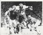 Calvin Hill – Dallas Cowboys vs Chiefs Willie Lanier 1970 original photo