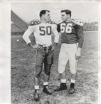 Alan Ameche & Bud Brooks 1955 Senior Bowl – Heisman Colts original photo