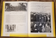 Jack Lummus - Congressional Medal Of Honor - WW II Casualty - NY Giants Signed Baylor Yearbook