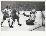 Terry Sawchuk – Provost – Red Hay original 1963 Stanley Cup photo