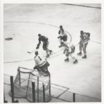 Stan Mikika scores on Jacques Plante original 1962 photo