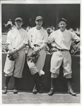 1934 Original photo Yankees Johnny Broaca, Johnny Murphy & DeShong