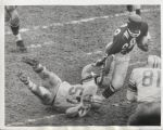 1961 original photo Lions Night Train Lane vs Bears Wille Galimore