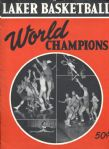1950 MINNEAPOLIS LAKERS NBA CHAMPIONS YEARBOOK – signed by HOFer Vern Mikkelsen