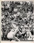 Super Bowl III Jets Defeat Colts – Jim Turner Kicks 1 of 3 Field Goals – 1969 Original Photo