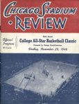1948 College All-Star Basketball Classic Lakers Beat College All-Stars program