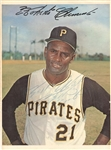 Roberto Clemente Signed 1967 Dexter Press Premium Photo Card HOF PSA/DNA LOA