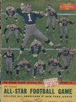 1939 College All Stars All-Americans football Program vs. New York Giants – Davey O'Brien - Luckman