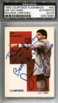 Jim Valvano - Signed 1992 Courtside Flashback Basketball Card #40  Early Death