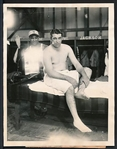 1927 Original Photo DOC JAMIESON New York Giants Historic AFRICAN AMERICAN trainer