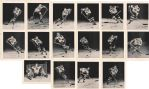 Boston Bruins 1955-56 Team Issued Set of 16 photos Picture Pack w/ Terry Sawchuk
