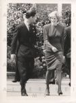 Prince Charles and Diana head for Spain 1987 Original Photo