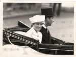 Princess Di and Charles On the Way to meet Saudi King Fahd - 1987 Original Photo