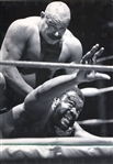 The Iron Sheik and Junkyard Dog 1985 Original Photo