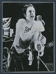 1977 Johnny Rotten - Sex Pistols Original Photo Anarchy in the U.K.
