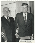 Presidents - John F. Kennedy & Harry Truman Original 1960 Photo