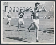 "Lou Zamperini 1939 ""Unbroken"" Olympic Star USC Track TYPE I Original Photo"