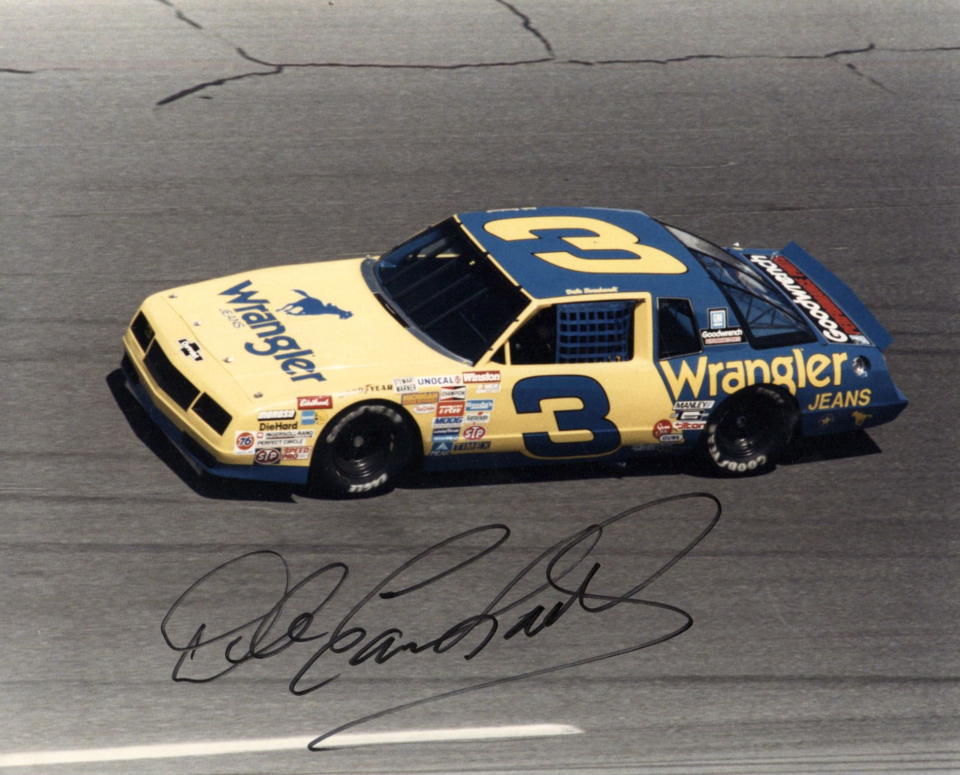 Lot Detail Dale Earnhardt Sr Signed 10x8 Color Photo Of