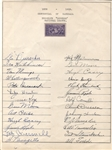 1939 Brooklyn Dodgers Signed Team Sheet