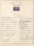 1939 National League Champion Cincinnati Reds signed by 24