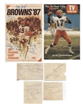 1940s – 1980s Cleveland Browns Autograph Collection