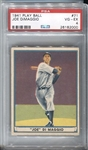 1941 Play Ball Joe DiMaggio #71 PSA 4 VG-EX
