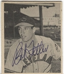 1948 Bowman Bob Feller #5 Rookie RC Signed Baseball Card