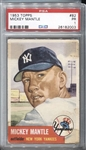 1953 Topps Mickey Mantle #82 PSA 1 – Second Year Topps