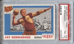 1955 Topps All-American Heisman RC Jay Berwanger #78 PSA 8 NM-MT
