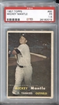 1957 Topps Mickey Mantle #95 PSA 1.5 Yankees