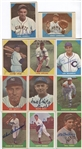 1960 Fleer Baseball - Lot of 11 Different Deceased Hall of Famers
