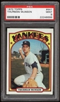 1972 Topps Thurman Munson #441 PSA 9 MINT Yankees Low POP