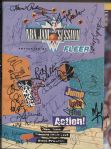 1994 NBA All Star Game Jam Session Program Signed by 21 Former NBA Legends
