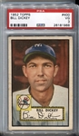 1952 Topps #400 Bill Dickey PSA 3 VG New York Yankees HOF