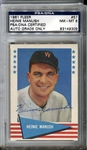 1961 Fleer Baseball Greats Heinie Manush #57 Signed PSA/DNA