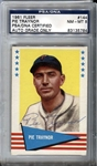 1961 Fleer Baseball Greats Pie Traynor #144 Signed PSA/DNA