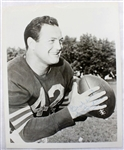 Sid Luckman Chicago Bears Football HOF Signed 8x10 Photo