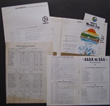ALEXANDER BELOV 1974 US-USSR Basketball Tournament Press Kit & SIGNED PROGRAM