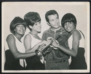 THE SUPREMES with HERB ALBERT Original 1960's Photo