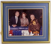 Jimmy Carter Signed 11x14 Color Photo Personalized to Baseball HOFer – Dick Williams