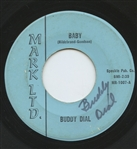 "Steelers Cowboys NFL Star – Buddy Dial Signed 45 Record – ""Baby"" RARE College Football HOF"
