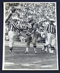 Tommy Davis San Francisco 49ers original oversized photo 1964 Breaking NFL Record