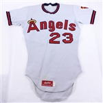 1976 Dick Williams Game Worn California Angels Jersey – Dick Williams Estate