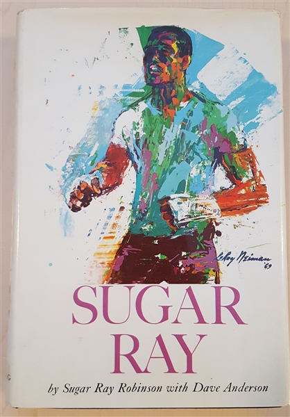 Sugar Ray Robinson signed Sugar Ray Autobiography Book