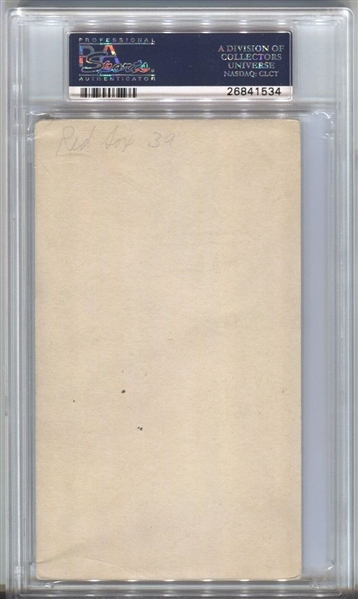 1936 Goudey Wide Pen Premiums R314 Signed  PSA/DNA