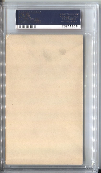 1936 Goudey Wide Pen Premiums Type I Rick Ferrell Signed  PSA/DNA