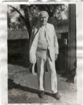 1929 Thomas Edison Original Underwood & Underwood TYPE I photo